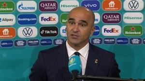 مارتینز: غمگینم؛ مردم بلژیک به این تیم افتخار کنند