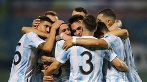 صعود آرژانتین به نیمهنهایی کوپا آمهریکا