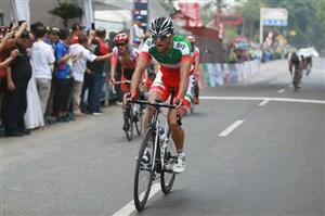 دوچرخهسوار المپیکی ایران در گرند پری یازدهم شد