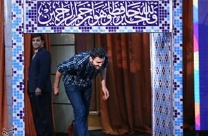 برگزاری مراسم بدرقه کاروان ایران در فرودگاه