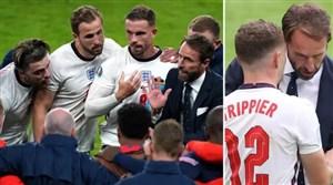 ساوتگیت در وقتهای اضافی به بازیکنان انگلیس چه گفت؟