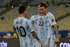 برزیل 0 - 1 آرژانتین؛ تاجگذاری در خاک رقیب