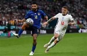 فینال یورو 2020؛  / گزارش زنده؛ ایتالیا 1 – 1 انگلیس