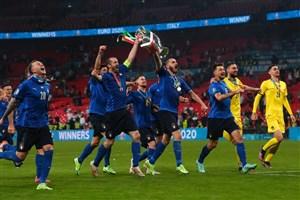 ایتالیا ۱ (۳)- (۲)۱ انگلیس: جام به رم رفت