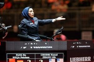داور المپیکی ایران قاضی بازی اتریش – ژاپن