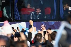 استقبال پرشور آرژانتینیها از قهرمان کوپا (عکس)