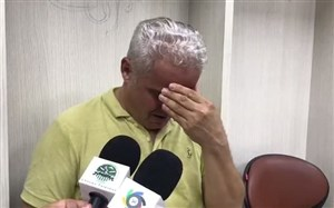 گریه دردناک آقای گل در پایان ماموریت نافرجام(عکس)