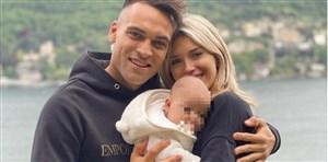 دختر نوزاد لائوتارو مارتینز در بیمارستان بستری شد