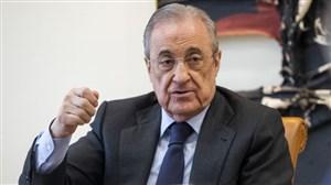 خبر ناامید کننده پرز به هواداران رئال مادرید