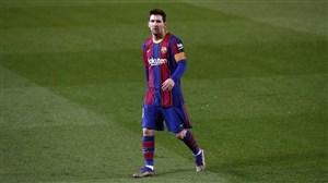 لیونل مسی و بازگشت به بارسلونا برای چند ساعت