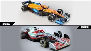 نسل جدید ماشینهای F1؛ هیولاهای چشمنواز