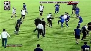 کاراته و لگدپرانی باورنکردنی در مسابقه تشریفاتی بوشهر