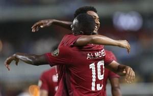 صعود قطر به یک چهارم نهایی جام طلایی