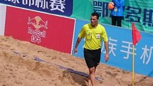 اکبرپور نامزد رقابت در جام جهانی ساحلی (عکس)