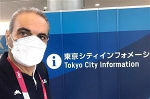 اولین گزارش جواد خیابانی از توکیو(عکس)
