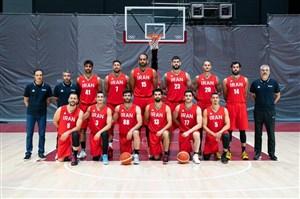 11 بسکتبالیست پشت کاپیتان صمد در افتتاحیه