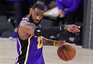 رکورد جدید پادشاه در NBA