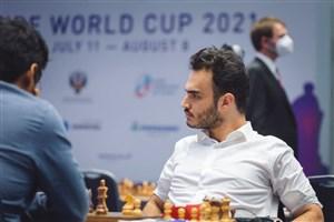 طباطبایی شطرنج باز ؛برنده برابر سوپر استاد (عکس)