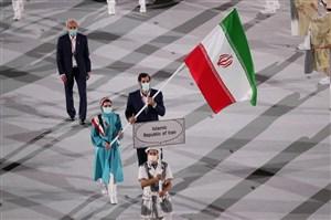 دو پرچمدار ایران در توکیو 2020 (عکس)