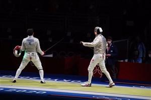 عابدینی مقتدرانه به استقبال قهرمان المپیک رفت
