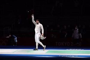 حذف کاپیتان مجتبی به دست قهرمان المپیک