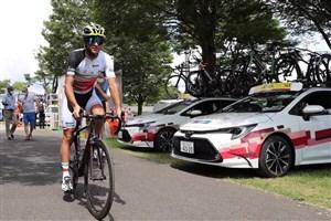دوچرخه سوار ایرانی به خط پایان نرسید!