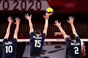والیبال المپیک؛ ایران بالاتر از کانادا و لهستان