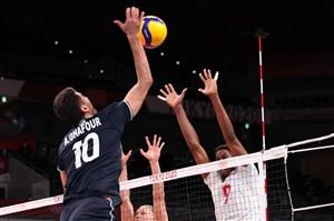 لحظه برد تاریخی تیم ملی والیبال در المپیک (عکس)