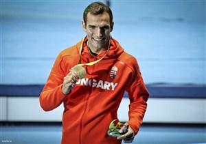 طلای المپیک بر گردن برنده عابدینی و پاکدامن