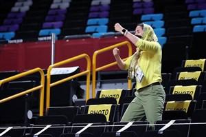 حمایت تک نفره از تیم ملی بسکتبال در توکیو