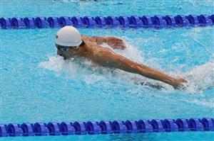 رکوردشکنی شناگر ایرانی در حد المپیک