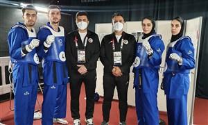 راهیابی ایران به فینال تکواندوی تیمی المپیک