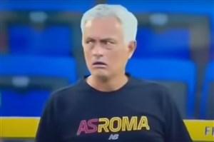 خشم ژوزه مورینیو؛ حتی در بازی دوستانه! (عکس)