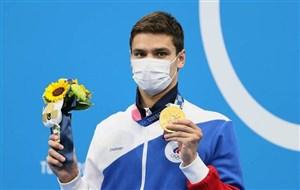 روسیه بعد از ۲۵ سال در شنا به طلای المپیک رسید