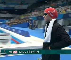 رکورد 100 متر آزاد زنان شکست