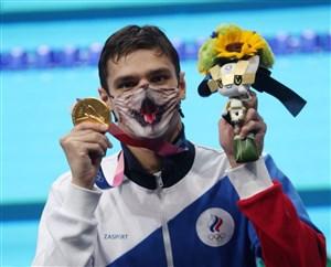 شناگر روسی رکورد 200 متر کرال پشت را شکست