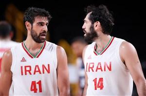 پایان کار بسکتبال ایران با شکست مقابل فرانسه