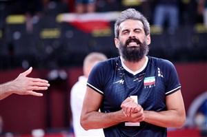 والیبال ایران و وابستگی افراطی به یک بازیکن(عکس)