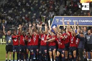 پایان سلطه PSG بر سوپرجام فرانسه (عکس)