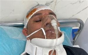 تصادف شدید داور لیگ برتری در پاکدشت(عکس)