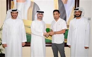 شماره 10 تیم اماراتی برای رسول خطیبی(عکس)