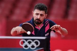 حذف نیما عالمیان از مسابقات تنیس روی میز قطر