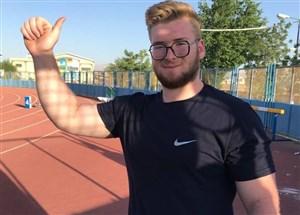 چهارمی پرتابگر وزنه ایران در قهرمانی جوانان جهان