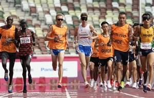 گرمازدگی ورزشکار روس ۵۰ متر تا خط پایان