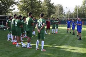 تیم ملی امروز در آزادی تمرین می کند