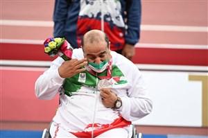 گریه روی سکو، عادت پارالمپیکیها (عکس)