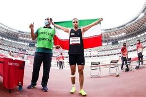 خسروانی چهارمین طلای پارالمپیک ایران را کسب کرد