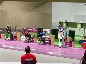 بانوی پاراتیراندازی ایران در پارالمپیک توکیو ششم شد