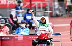 متقیان به مدال طلای پرتاب نیزه رسید