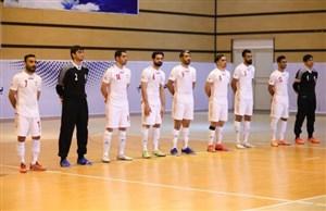 جام جهانی فوتسال: ایران برابر صربستان سفید میپوشد